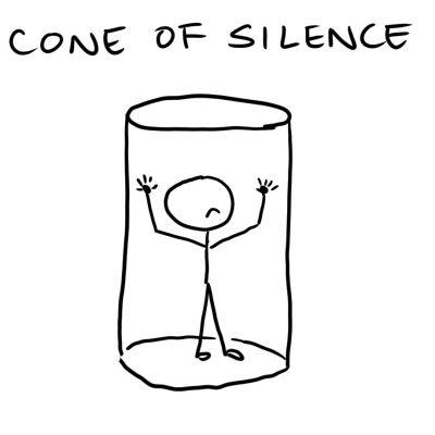 054 - Cone of Silence - square